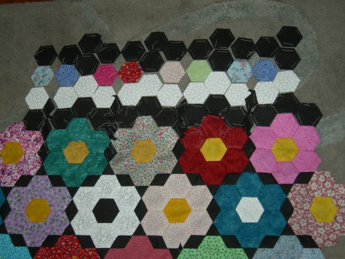 swap, hexagones, patchwork,