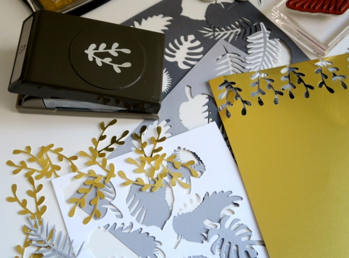 perforatrice, stampin'up, branchage, branchette,