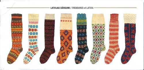knitted knee socks, latvia 19th century, National History Museu.jpg